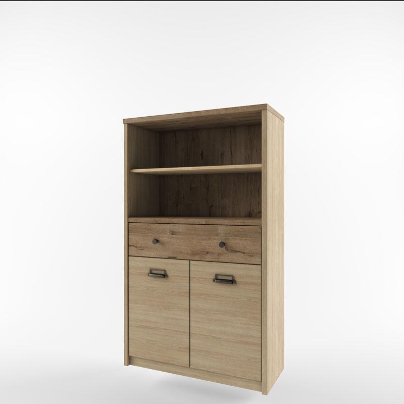 Шкаф 2D1S2NL/D1 веллингтон