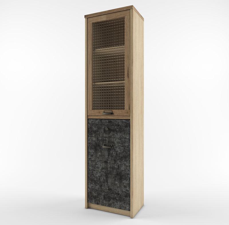 Шкаф с витриной 1V1D1S/D3 истамбул