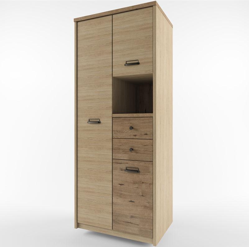 Шкаф 3DG2SN/D1 веллингтон