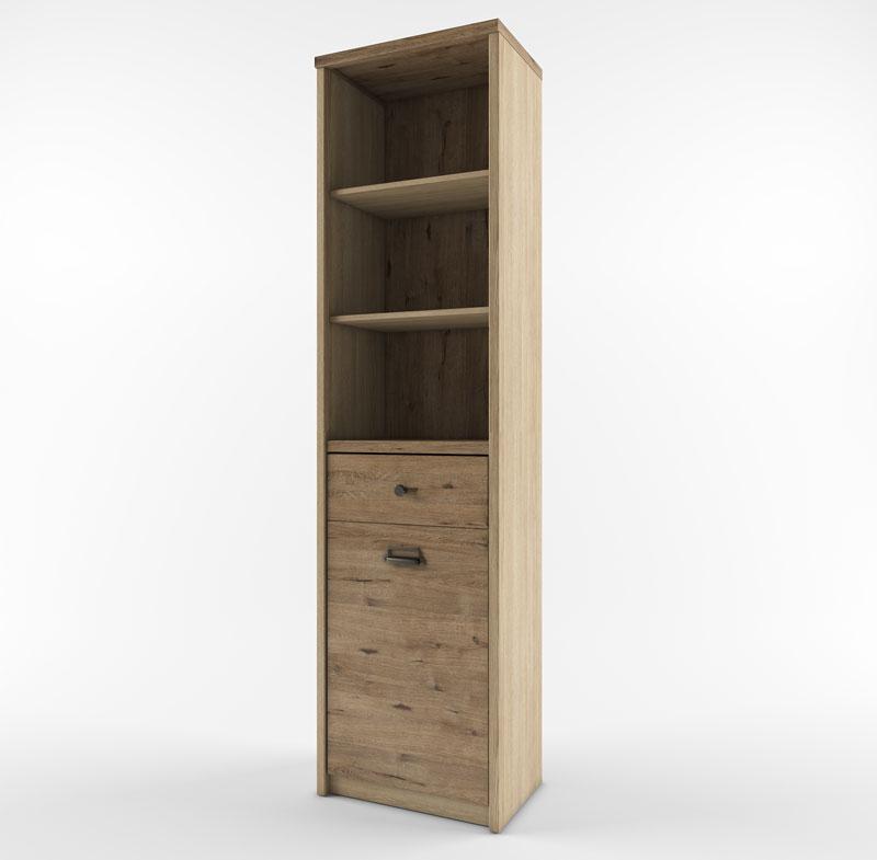 Шкаф открытый 1D1S/D1 веллингтон