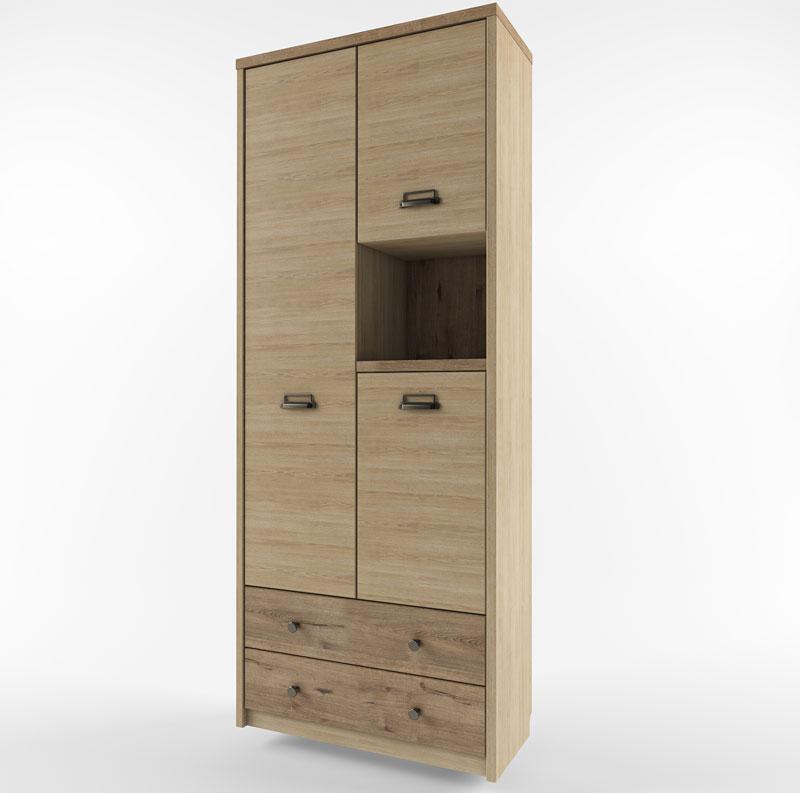 Шкаф 3D2SN/D1 веллингтон